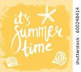 conceptual hand drawn phrase it'... | Shutterstock .eps vector #600248414