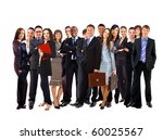 young attractive business... | Shutterstock . vector #60025567