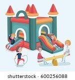 vector cartoon illustration of... | Shutterstock .eps vector #600256088