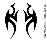 tattoos ideas designs   tribal...   Shutterstock .eps vector #600256556