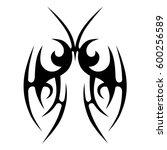 tattoo tribal vector designs...   Shutterstock .eps vector #600256589