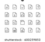 file ui pixel perfect well... | Shutterstock .eps vector #600259853