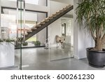 Glazed House Corridor With...