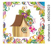 Beautiful Birdhouse With...