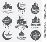 ramadan karrem means ramadan... | Shutterstock .eps vector #600269336