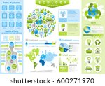 ecological icon set... | Shutterstock .eps vector #600271970