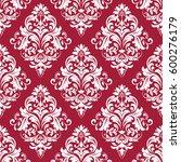 floral pattern. wallpaper... | Shutterstock .eps vector #600276179