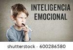 inteligencia emocional  spanish ... | Shutterstock . vector #600286580