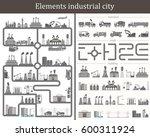 set include  industrial...   Shutterstock . vector #600311924