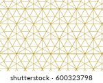 geometric background with... | Shutterstock .eps vector #600323798