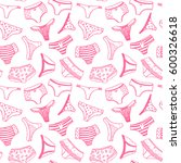 seamless vector pattern with... | Shutterstock .eps vector #600326618