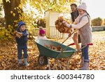 Children Helping Father To...