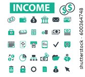 income icons | Shutterstock .eps vector #600364748