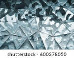 metallic organic grey geometry... | Shutterstock . vector #600378050