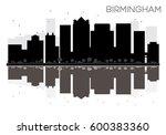 Birmingham City Skyline Black...