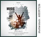 dancing people | Shutterstock .eps vector #600397136