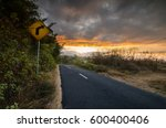 road to mount. rinjani  the... | Shutterstock . vector #600400406