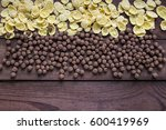 corn flackes and cereal... | Shutterstock . vector #600419969