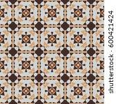 abstract vector modern seamless ... | Shutterstock .eps vector #600421424