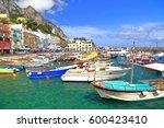 Marina Grande In Capri  Capri...