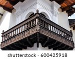 wonderful crafted wooden... | Shutterstock . vector #600425918