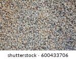 Close Up Gravel Wall Pattern