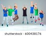 the kids dance school  ballet ... | Shutterstock . vector #600438176