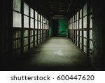creepy hallway of an old... | Shutterstock . vector #600447620