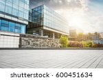 large modern office building | Shutterstock . vector #600451634