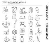 big set of symbols of... | Shutterstock .eps vector #600465884