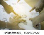 successful business team... | Shutterstock . vector #600483929