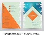 cover design vector template ...   Shutterstock .eps vector #600484958