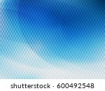 abstract vector background with ... | Shutterstock .eps vector #600492548