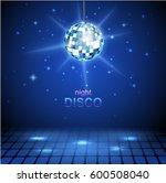 disco ball background | Shutterstock . vector #600508040
