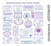 bitmap western europe common... | Shutterstock . vector #600508439
