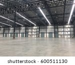 warehouse doors for loading and ... | Shutterstock . vector #600511130