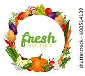 vector image. frame of... | Shutterstock .eps vector #600514139