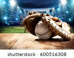 baseball and tools  | Shutterstock . vector #600516308