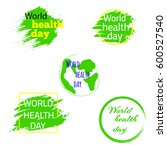 World Health Day Tags  Element...