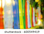 Buddhist Praying Flags In...