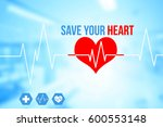 medical and healthcare concept... | Shutterstock . vector #600553148