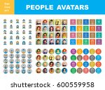 men and women characters staff... | Shutterstock .eps vector #600559958