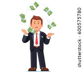successful skilled business man ... | Shutterstock .eps vector #600575780