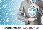 health protection and insurance....   Shutterstock . vector #600582710