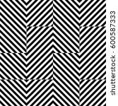 vector seamless pattern.... | Shutterstock .eps vector #600587333