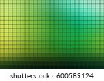 abstract square mosaic tile... | Shutterstock .eps vector #600589124