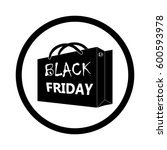 shopping bag icon.   Shutterstock .eps vector #600593978