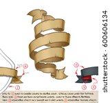 vector cartoon illustration of... | Shutterstock .eps vector #600606134