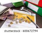 polish tax form pit 37 for... | Shutterstock . vector #600672794