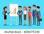 concept of exam. creative... | Shutterstock .eps vector #600675140